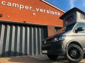 VW T6 Campervan 2018 AIR CON | All Terrain Tyres | Swamper | 4 Berth | 14k Miles