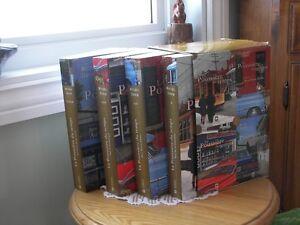 4 livres LA POUSSIÈRE DU TEMPS par Michel David