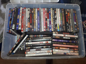 Over 100 DVDs all good condition