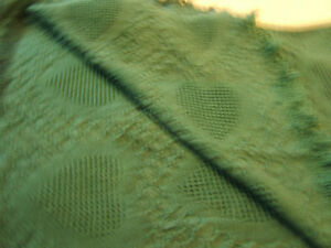 """TEAL COTTON COUCH THROW OR BLANKET"" Kingston Kingston Area image 1"