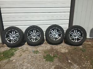 Set of 4 boss 20 inch 5 bolt pattern rims for sale
