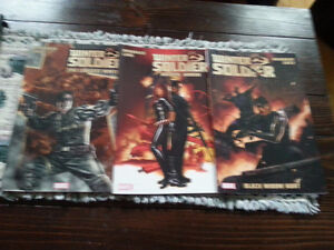 3 Winter Soldier Graphic Novels for sale