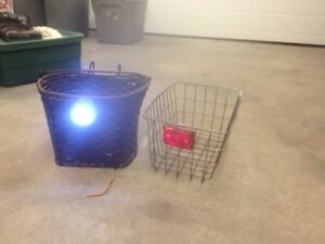 Front and back towny baskets with lights