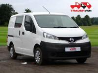 2015 NISSAN NV200 15DCI SE SEAT 5 CREW VAN CONVERSION DIESEL MANUAL