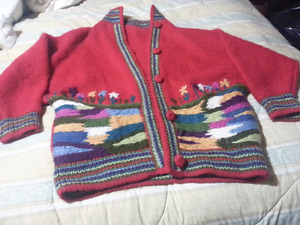 Absolutely Beautiful knitted Ladies Sweater