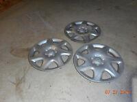 3 enjoliveurs Mazda 14''