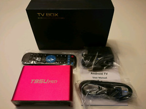 T95U PRO Android Box + Free Live Sports,Movies,TV show