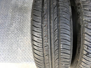 4 Summer tires. Firestone Firehawk GT. Used only for 40,000KM