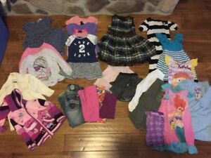 Girls size 4- 5 T Clothes