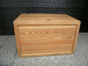 Antique Tongue and Groove  Restored Fir Trunk