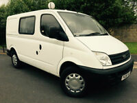 2008 08 LDV MAXUS 2.8T 2.5 (95) SHORT WHEEL BASE 6 SEAT CREW VAN * NO VAT *