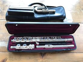 Yamaha 211 SII Flute with beginners mouthpiece