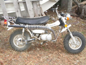 1974 Suzuki RV-90 Trail Bike  Mini Bike