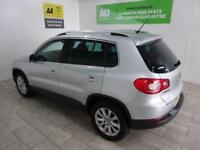 SILVER VOLKSWAGEN TIGUAN 2.0 SE TDI 4MOTION ***FROM £42 PER WEEK***