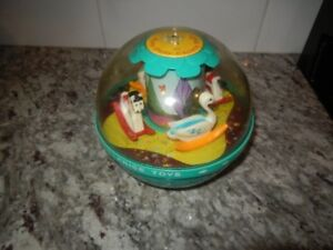 1966 Fisher Price Roly Poly Chime Ball