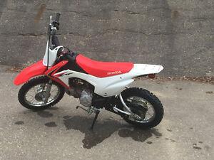 Youth Honda  CRF 100 dirt bike