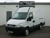 IVECO DAILY 2.3TD 35S13 SWB HIGH ROOF PANEL DELIVERY LOGISTICS WORK CAMPER VAN