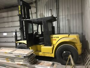hyster 200 forklift low hours