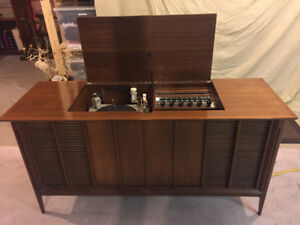 Stereo, Vintage Console Marconi