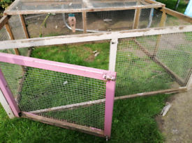 Free guinea pig/rabbit run