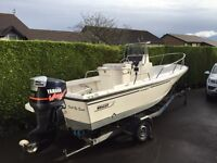 Boston Whaler Outrage 17 Yamaha 150hp Outboard