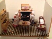 Dolls house kitchen 1/12 scale