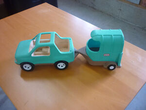 Little Tikes Truck and Horse Trailer