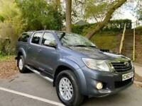 2013 Toyota Hilux INVINCIBLE 4X4 D-4D DCB 1OWNER LEATHER NOVAT CANOPY IMMACULATE