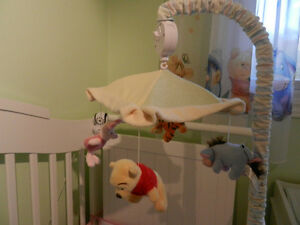 Winnie the Pooh (and friends) Musical Mobile for a Crib wow Cambridge Kitchener Area image 2