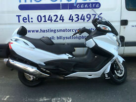 Suzuki AN650A 638cc Burgman Executive Scooter 2014 Burgman / Nationwide Delivery
