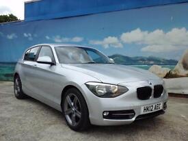 2012 BMW 1 SERIES 118D SPORT £30 A YEAR TAX HATCHBACK DIESEL