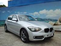 2012 BMW 1 SERIES 118D SPORT £30 A YEAR TAX HATCHBACK DIESEL