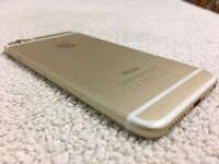 iPhone 6 -128 gb - gold unlocked - immaculate condition