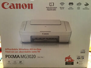 Canon PIXMA MG3020 Affordable wireless all-in-one Printer