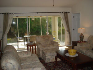 Luxury,tastefully furnished home on a quit , private street. 3/2