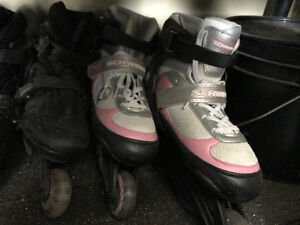 Kids roller blades great condition