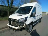 2020 Ford Transit Trend 2.0 EcoBlue A/C 130ps H3 White Damaged Salvage