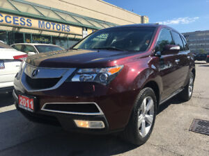 2011 ACURA MDX TECH PKG,CLEAN CARPROOF,NAVI, CAMERA