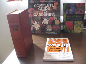 Gardening reference books
