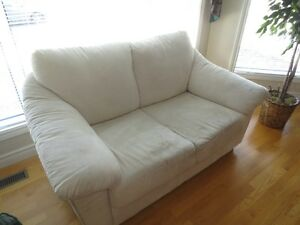 LOVESEAT AND MATCHING CHAIR
