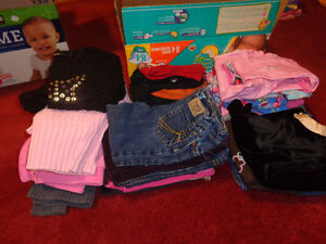 Lots of Girls Clothing 3 mos to 4T
