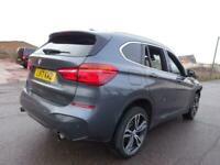 2017 17 REG BMW X1 M SPORT 2.0TD XDRIVE25D DIESEL AUTO DAMAGED SALVAGE