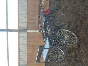 Pony cart and harness for sale