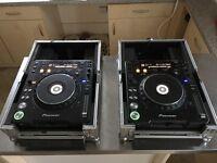 Pair of Pioneer CDJ 1000 MK3 Turntables