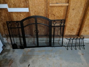Fireplace cover/ gate