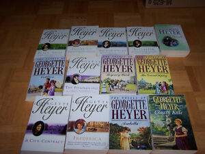 GEORGETTE HEYER- 13 softcover books