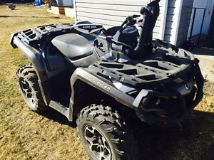 2013 can am outlander 678 miles