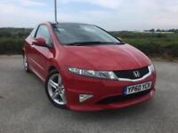 2011 Honda CIVIC 1.8 I-VTEC TYPE S GT Manual Hatchback