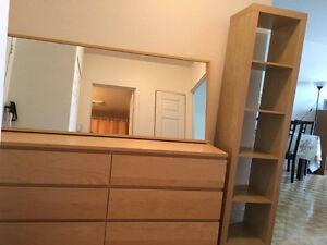 dressers, mirror, Shelf Storage