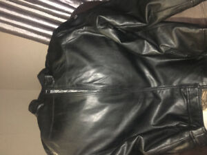 Men's leather jacket 4xl Brand new nice coat